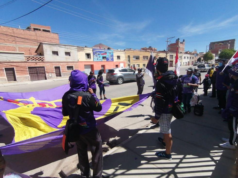 Partido en homenaje a Potosí
