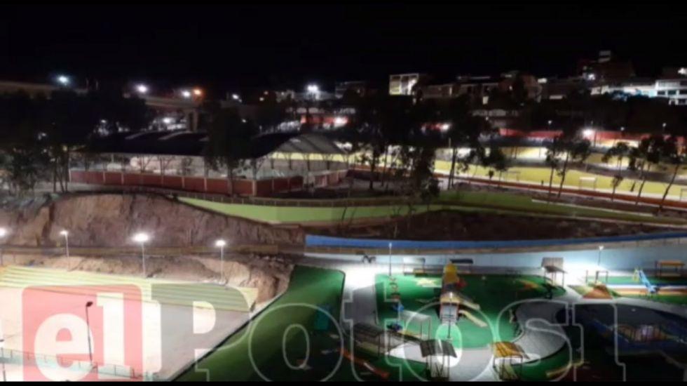 Alcalde entregará parque que fue impulsado por Williams Cervantes