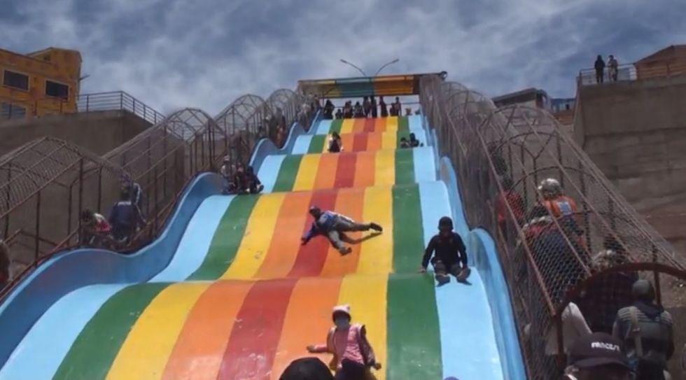 Potosí cuenta con un nuevo parque integral