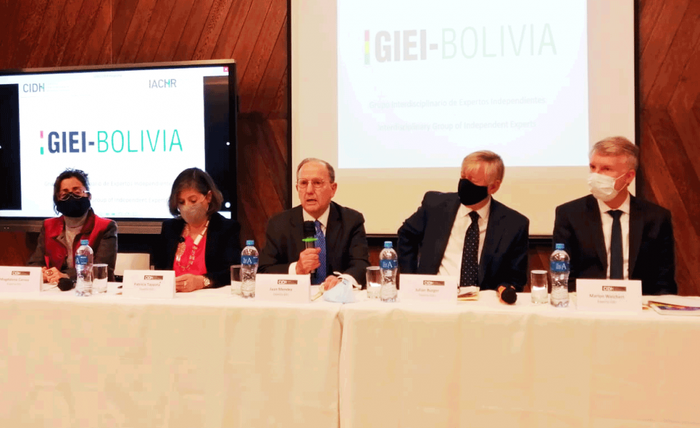 "Expertos de la CIDH descartan analizar si hubo ""fraude"" o ""golpe"""