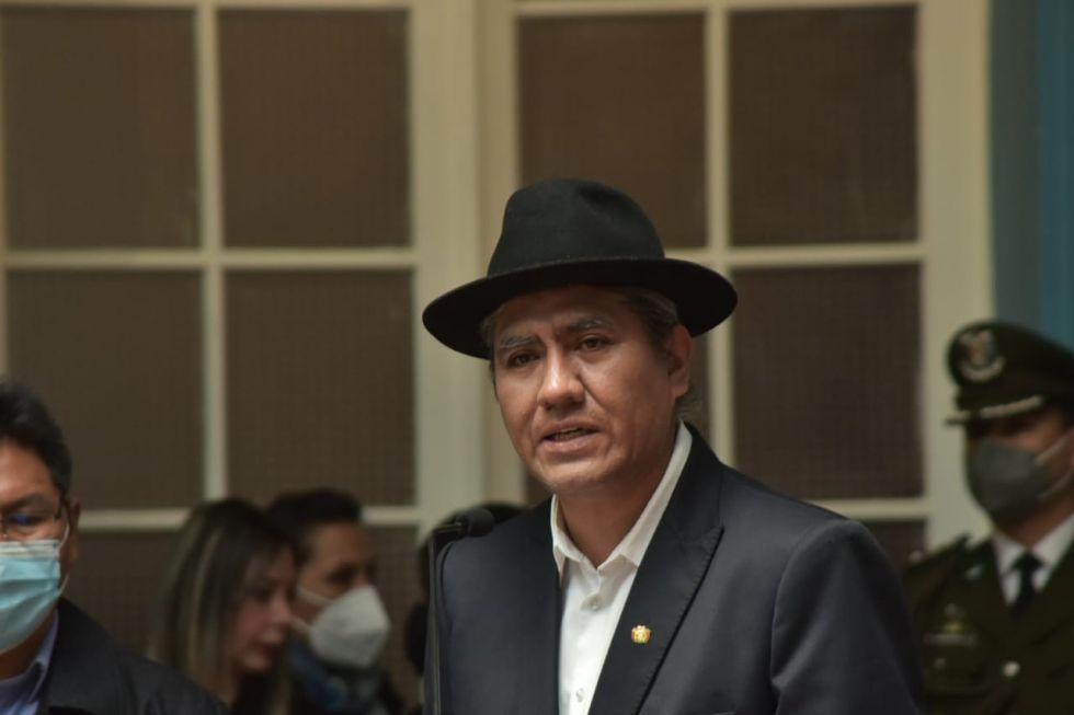 El excanciller Diego Pary asumió este martes como Embajador ante la Organización de las Naciones Unidas