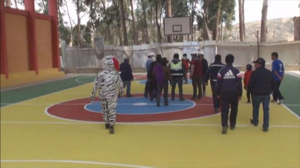 Entregan ampliación de unidad educativa en Chaquilla Alta
