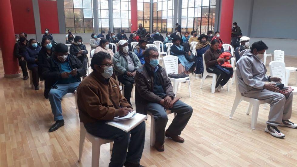 Las instituciones se reúnen en la Casa de la Cultura