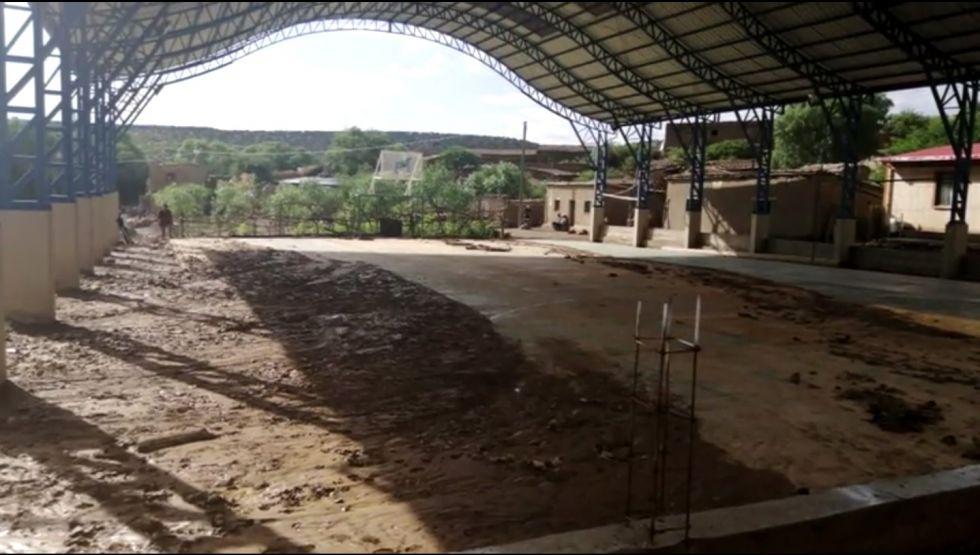 El municipio de Cotagaita fue azotado por fuerte tormenta de granizo