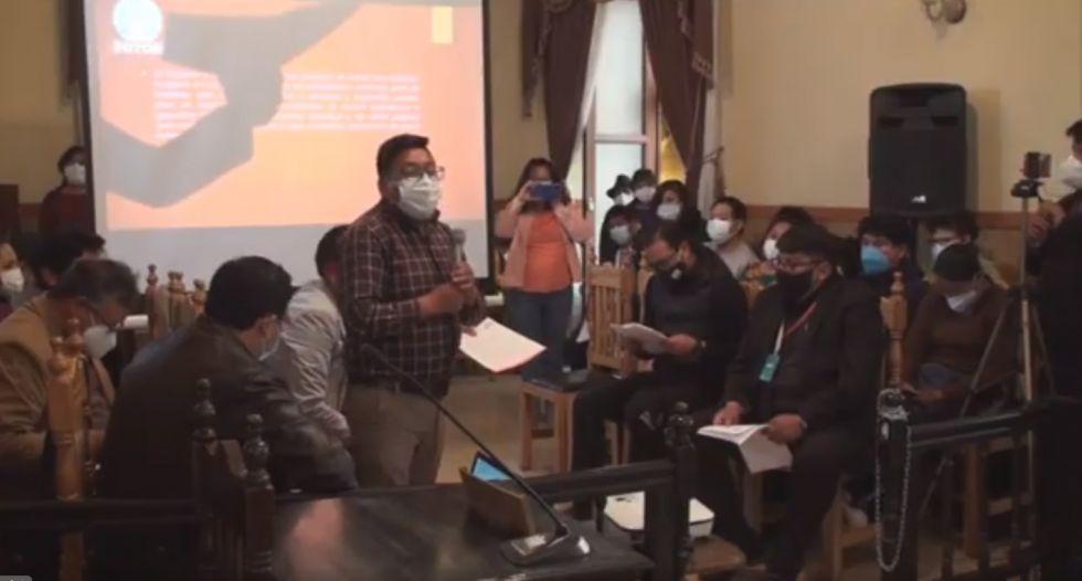 Reprograman informe oral del alcalde ante el Concejo