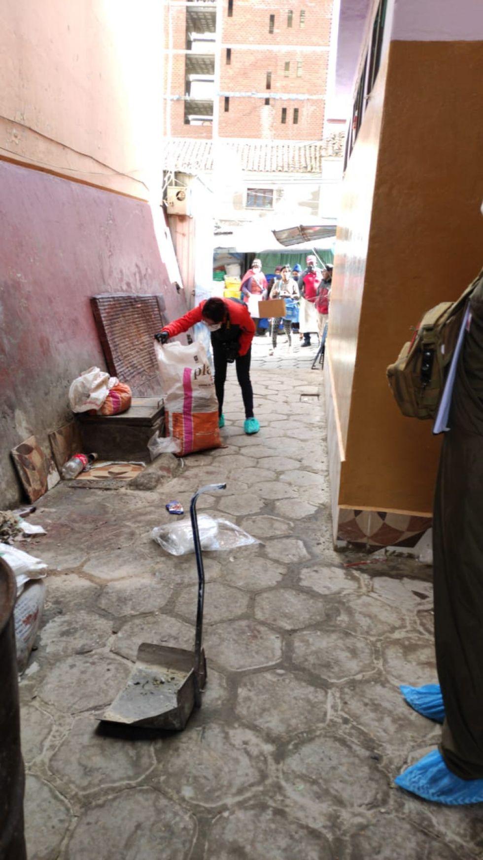 El hecho ocurrió cerca del baño del Mercado Uyuni.