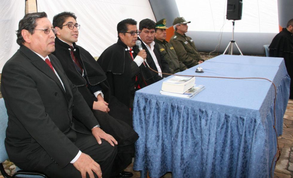 La incorporación de Luis Oporto a la SIHP, en 2019.