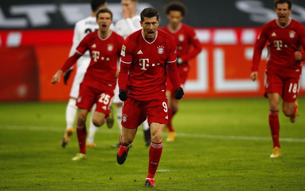 El Bayern Múnich es campeón de invierno con nuevo gol de Lewandowski