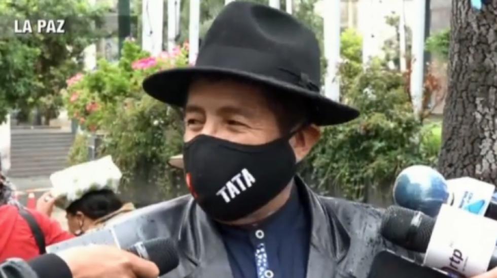 Este jueves podría emitirse la sentencia contra el 'Tata' Quispe por caso acoso político