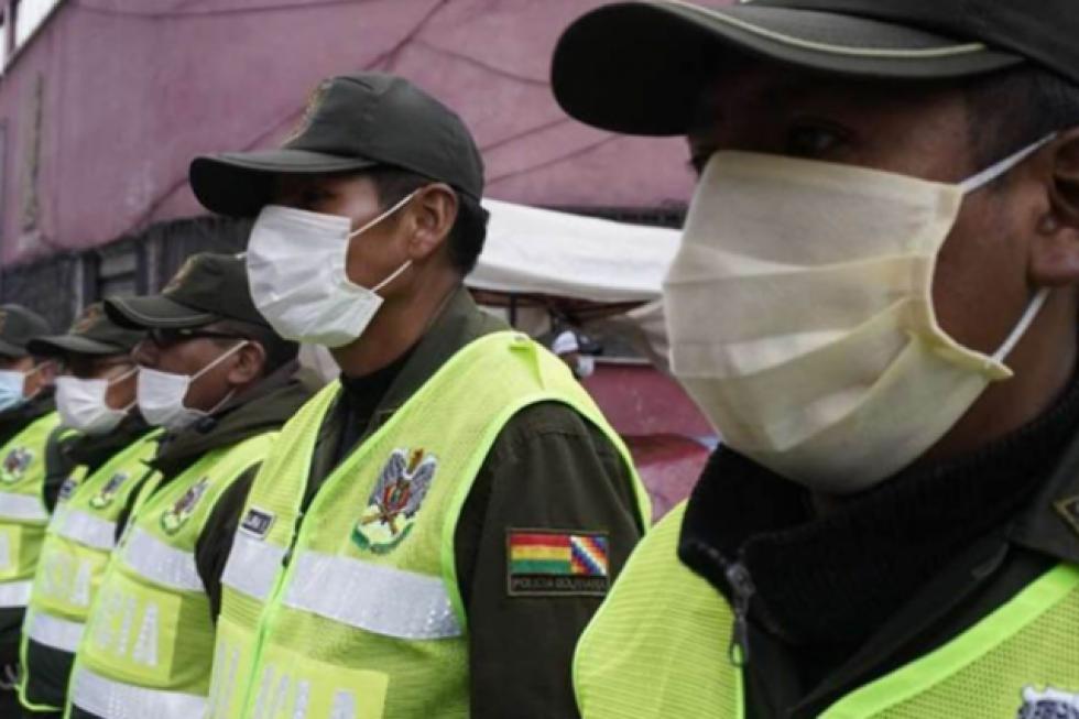 Segunda ola: Unos 522 policías fueron contagiados y nueve fallecieron