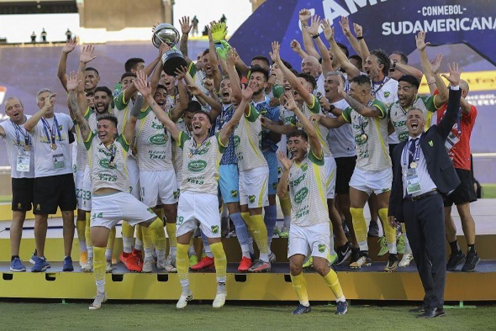 Defensa y Justicia se codea con la gloria y gana la Copa Sudamericana 2020