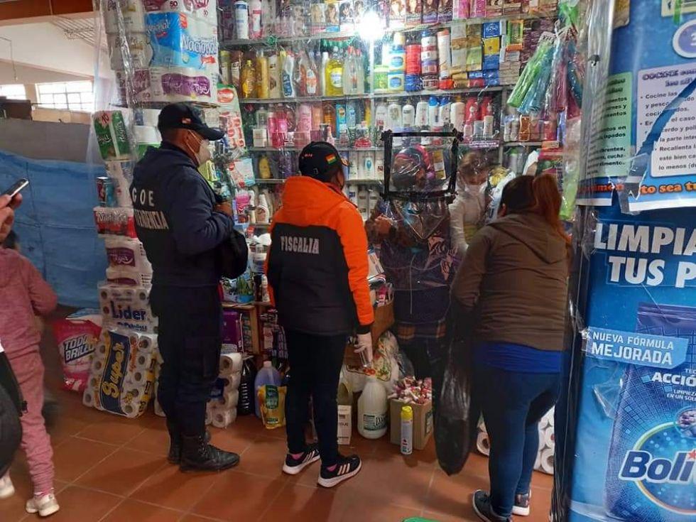 La intendencia de Potosí incide en tareas de control de bioseguridad