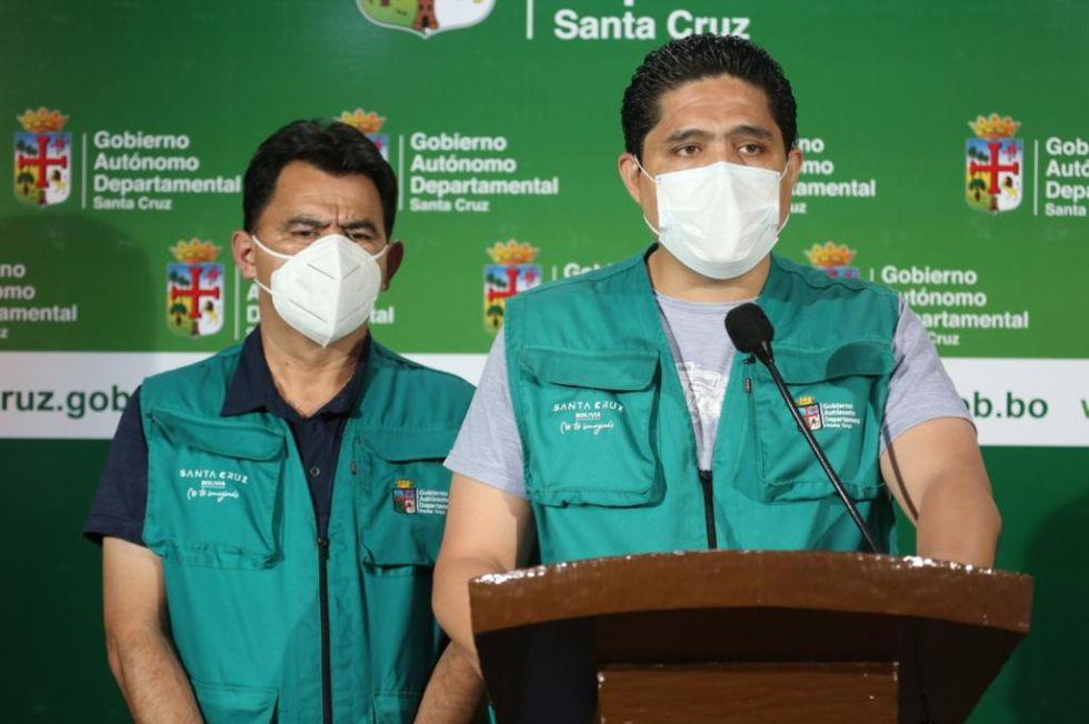 Santa Cruz registra 384 casos positivos y 15 fallecidos por coronavirus