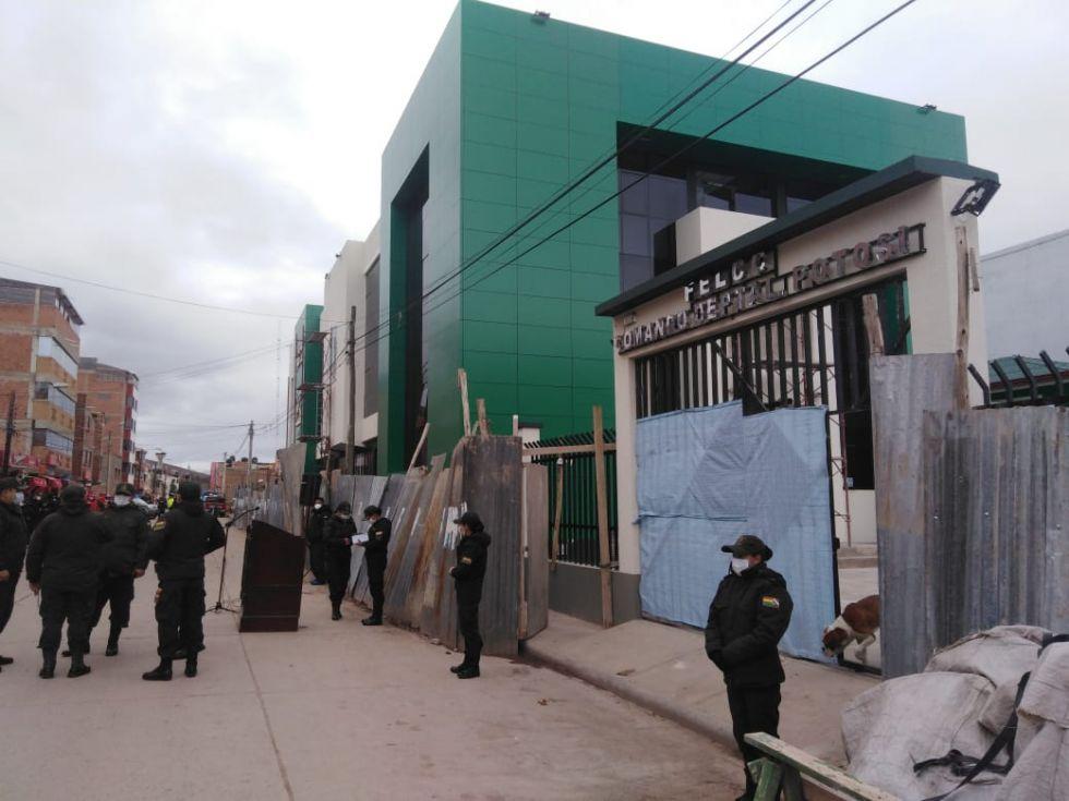 Con edificio propio, la Policía de Potosí debe liberar el que ocupa en la plaza 10 de Noviembre