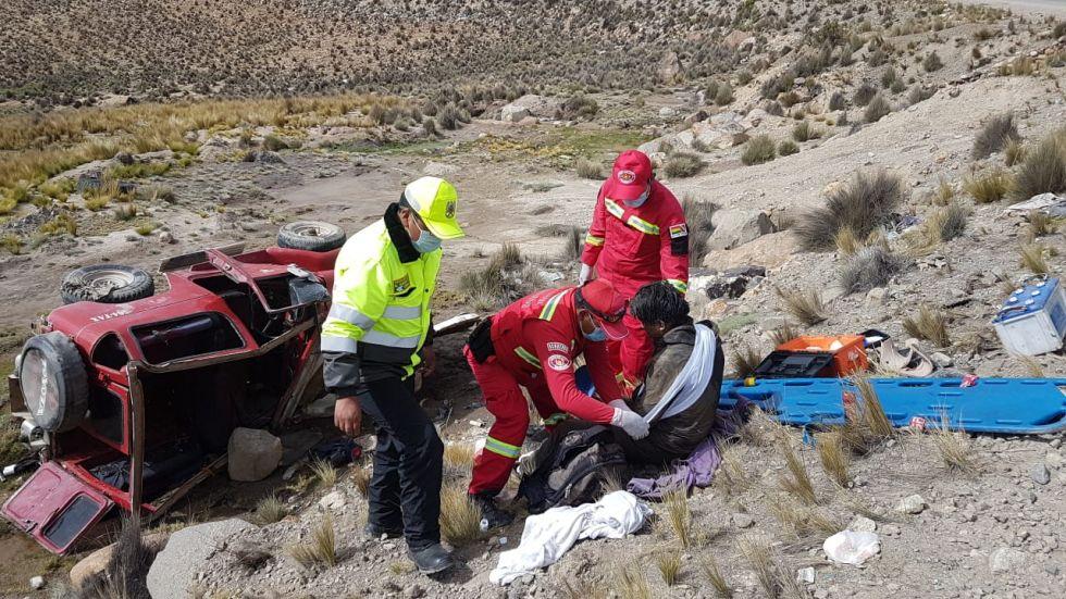 Tránsito reporta dos accidentes de tránsito que dejan cuatro personas heridas