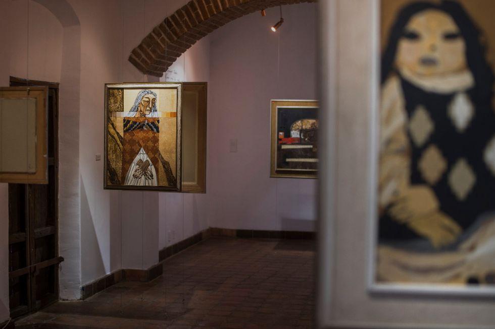 El artista Gil Imaná donó su patrimonio artístico y cultural al igual que la Casa – Taller. FOTO FCBCB