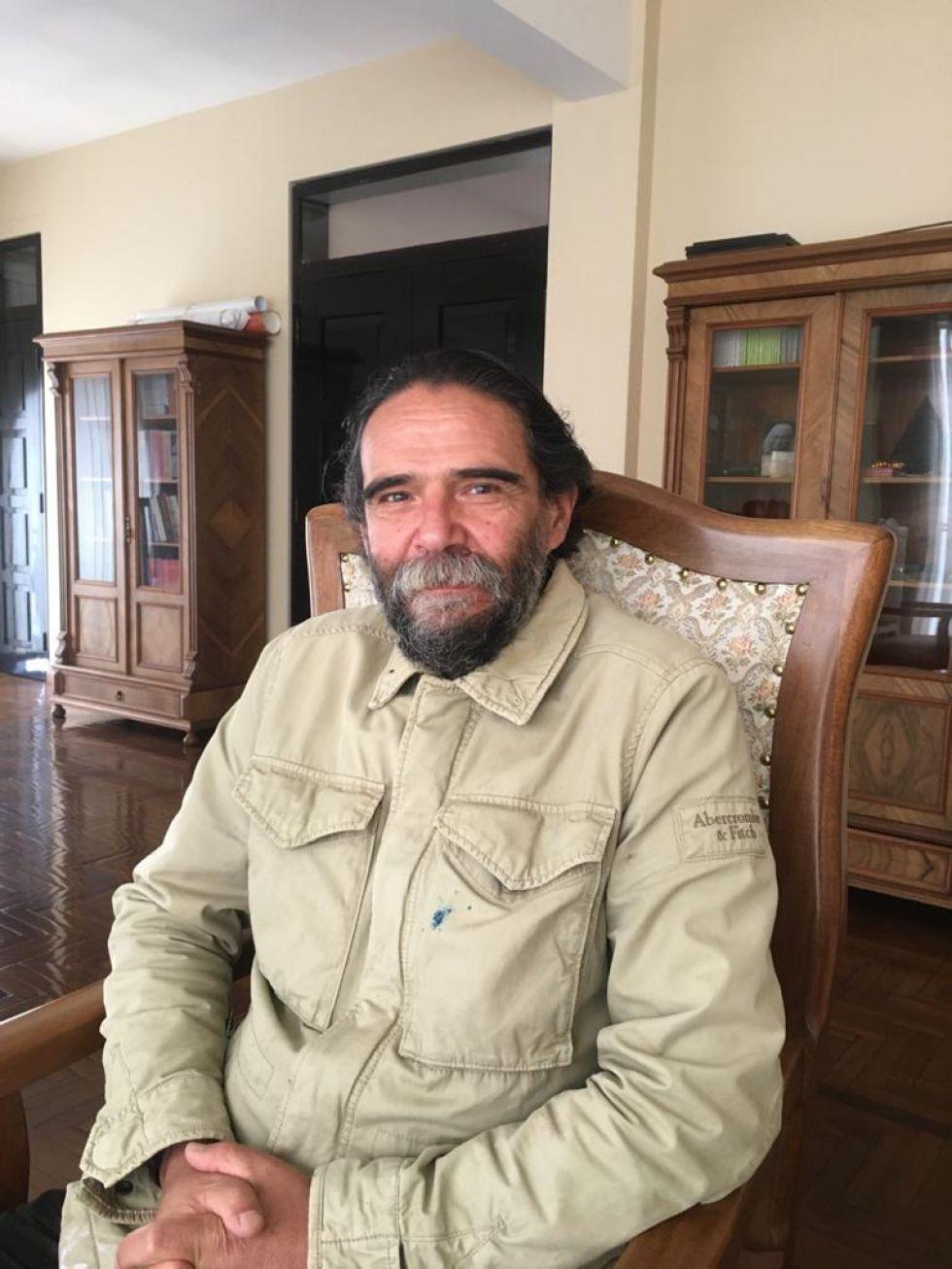 Máximo Pacheco Balanza, Director del Archivo y Biblioteca Nacionales de Bolivia FOTO FCBCB