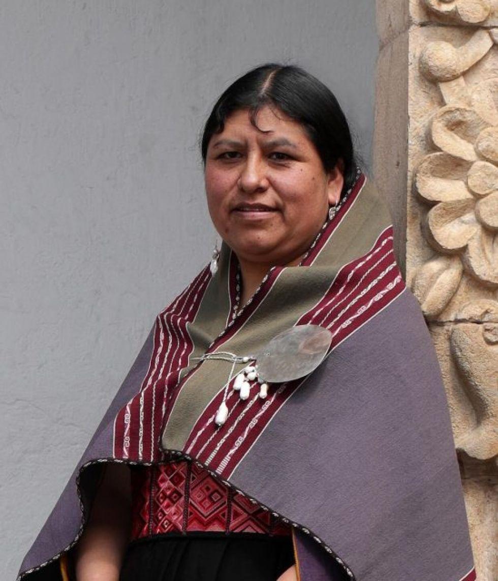 Elvira Espejo Ayca, Directora del Museo Nacional de Etnografía y Folklore FOTO FCBCB