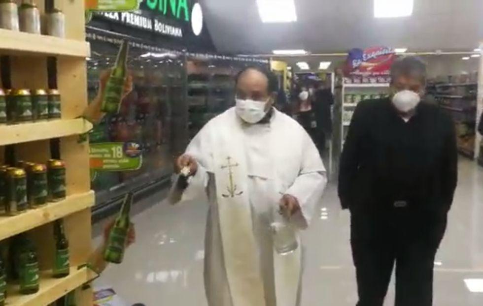 """Así se inauguró """"Snow Supermercados"""" anoche en Potosí"""