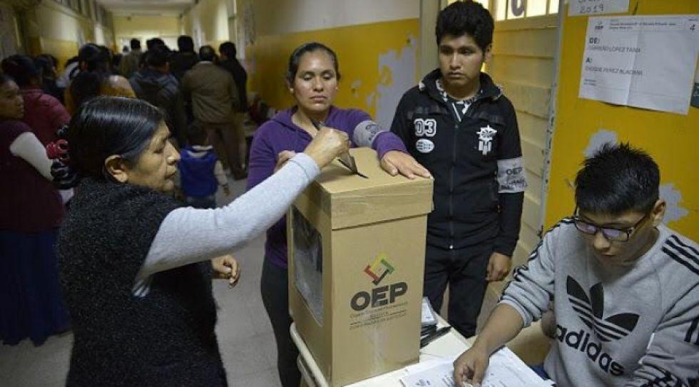Oposición logra siete ciudades capitales y El Alto, el MAS consigue una y hay dos indefinidas