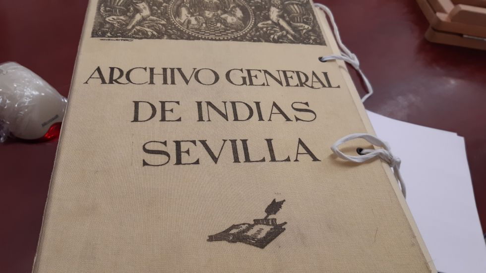 Un legajo de los casi 800 sobre Charcas que existen en en AGI.