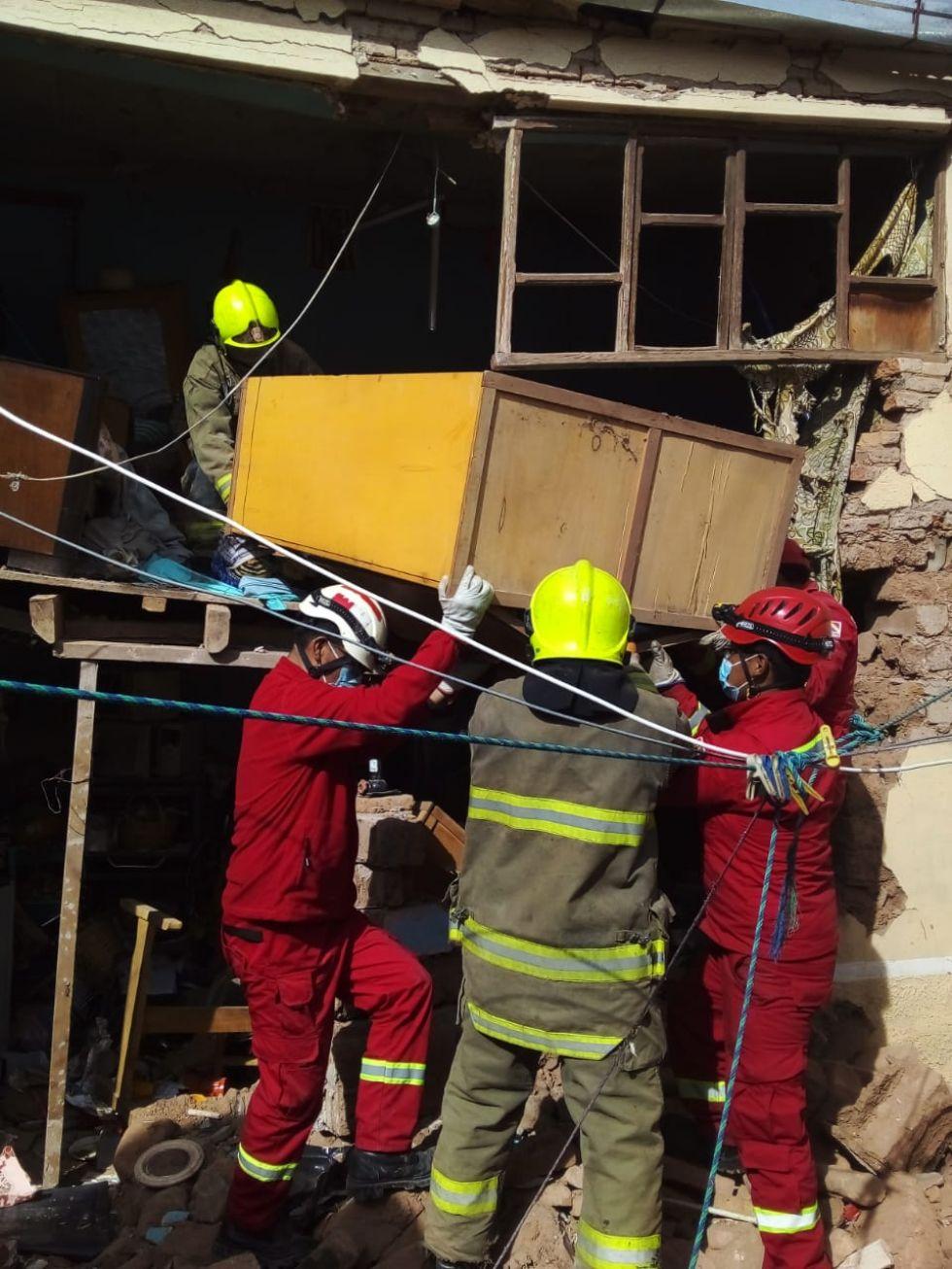 Los bomberos atendieron el hecho