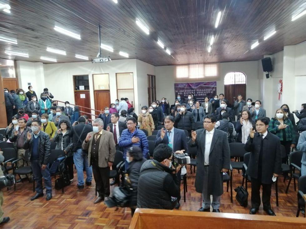 Las unidades educativas ya cuentan con nuevos directores en Potosí