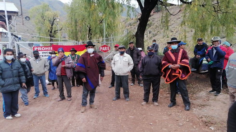 Comunarios toman de la planta de YLB en La Palca en Potosí