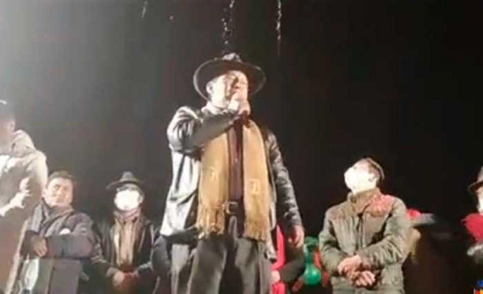Santos Quispe se declara ganador y lo dedica a su padre 'El Mallku'