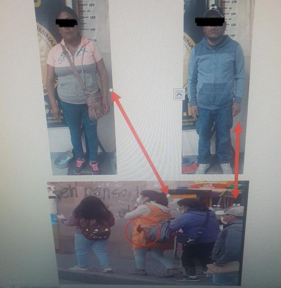 Detienen a lanceros que fueron filmados robando celular