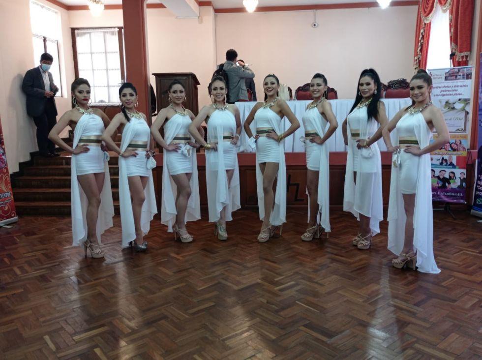 Ocho candidatas buscan el título de Miss Potosí