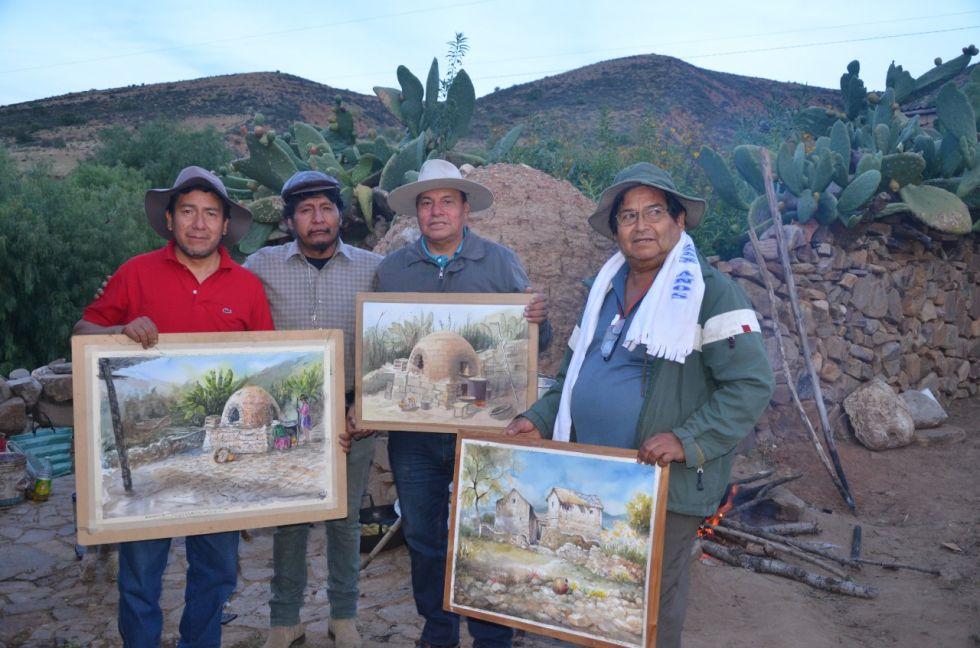 Participaron cerca de 60 personas entre artistas y alfareros.