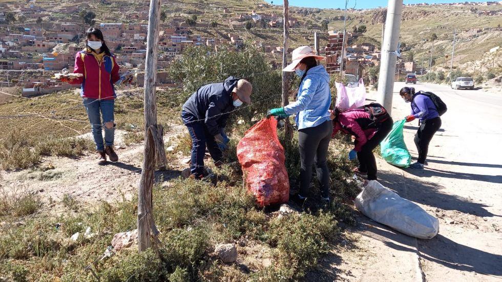 EMAP ha apoyado esta iniciativa en conmemoración al 22 de abril, Día de la Madre Tierra.