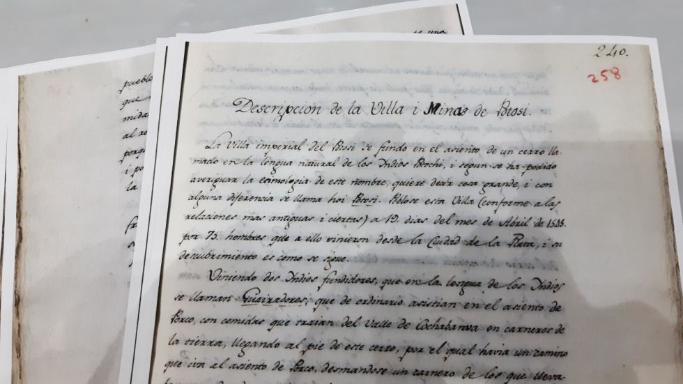 La Copia de la Real Academia de la Historia.