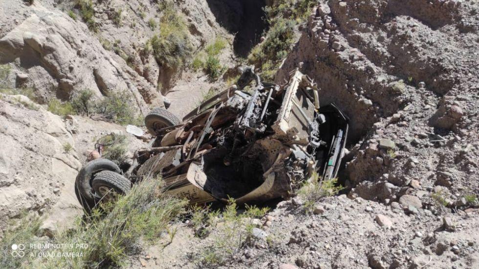 El hecho de tránsito ocurrió en el camino Villazón - Casita.