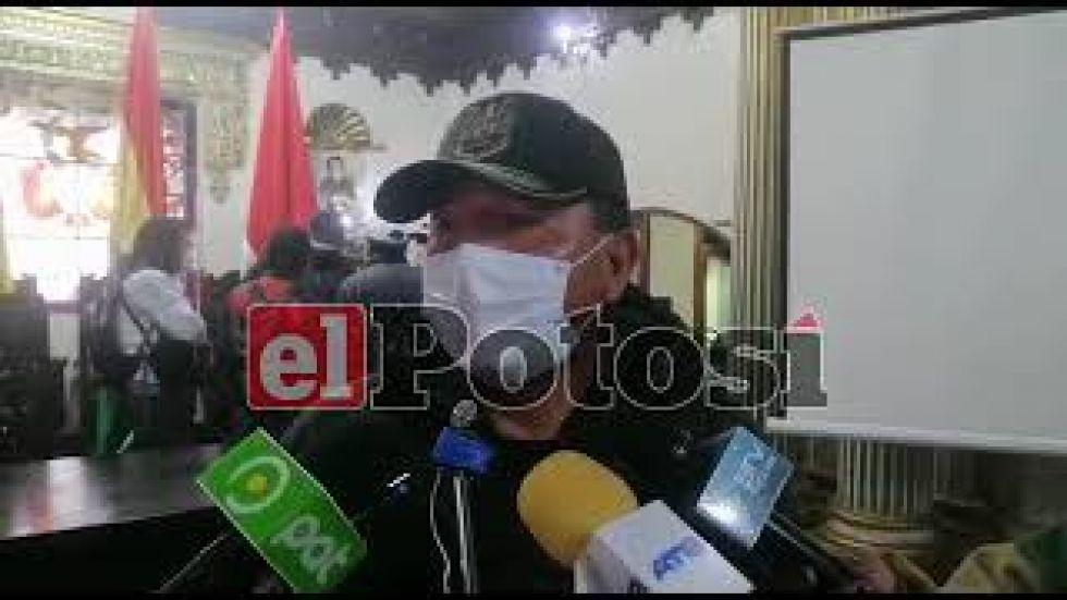 Policía potosina solicita apoyo para que un equipo de buceo busque a mineros desaparecidos