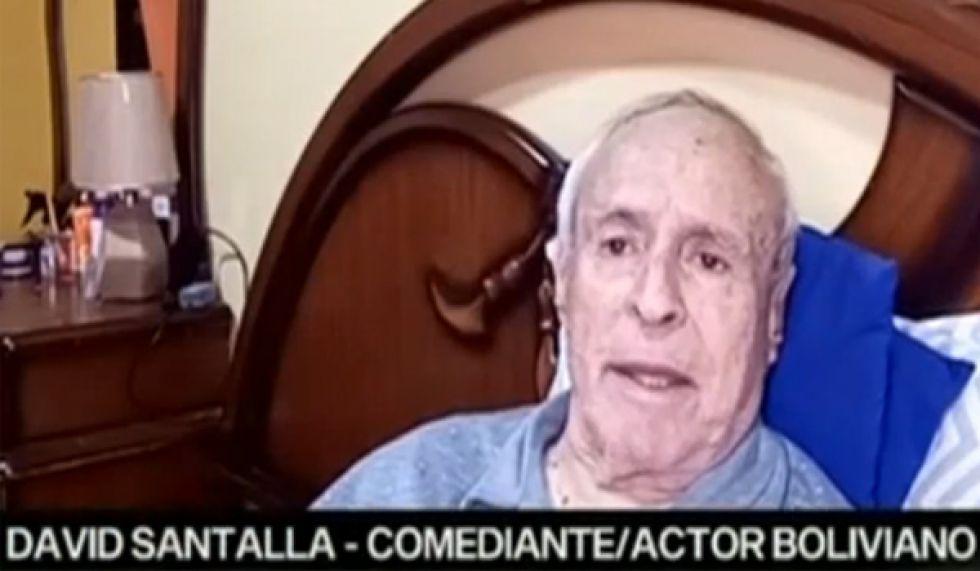 """David Santalla: """"No voy a entrar al cajón sin hacer mi último show"""""""