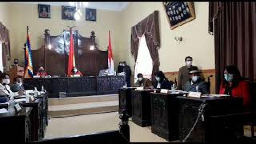 Concejo Municipal en Potosí interpela al director de Patrimonio