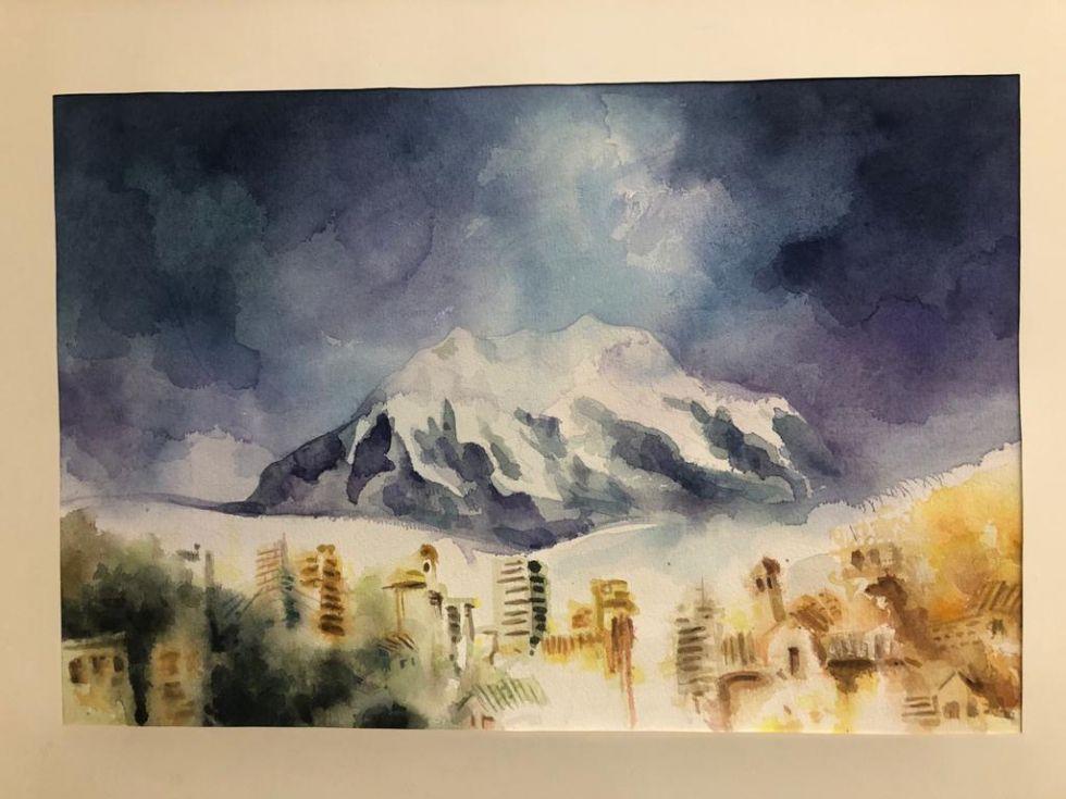 Los trabajos expuestos por los artistas están inspirados en diferentes temáticas