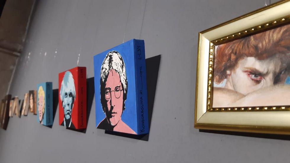 Los tamaños de las piezas van, como máximo 15 centímetros, hasta pequeñas obras de arte de cuatro centímetros de diámetro.