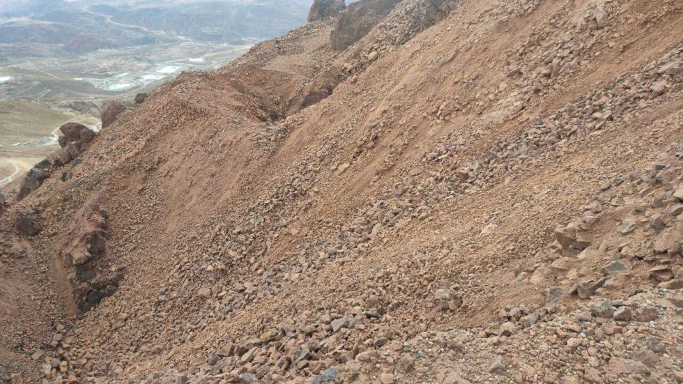 El deterioro del Cerro Rico es la razón por la que Potosí fue incluido por la lista de patrimonio en riesgo en 2014.