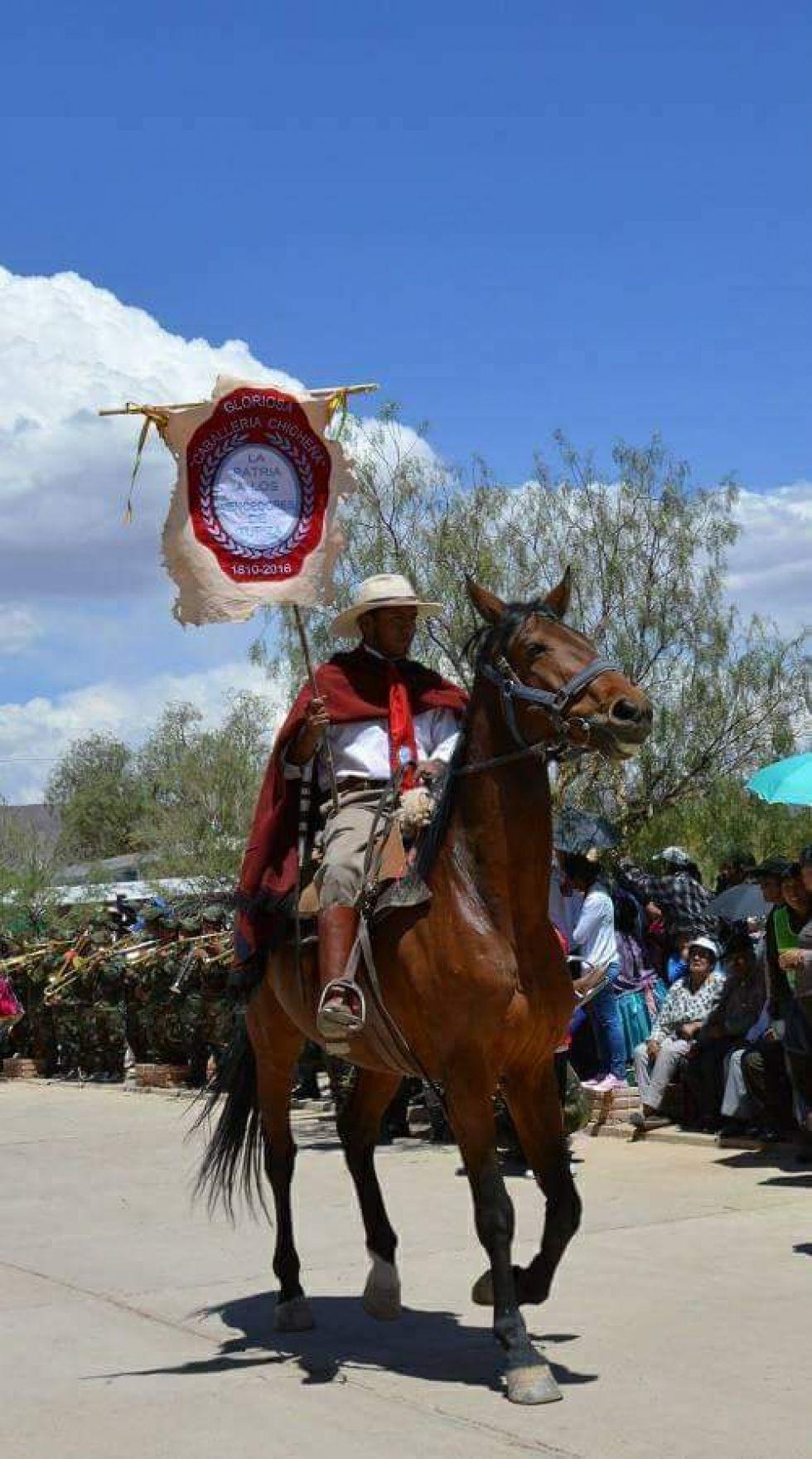 Jinete caballería chicheña