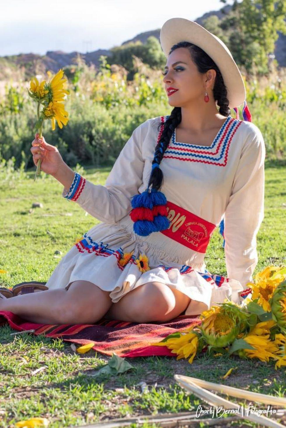 La Miss Potosí de este año es Macarena Castillo, nacida en Tupiza