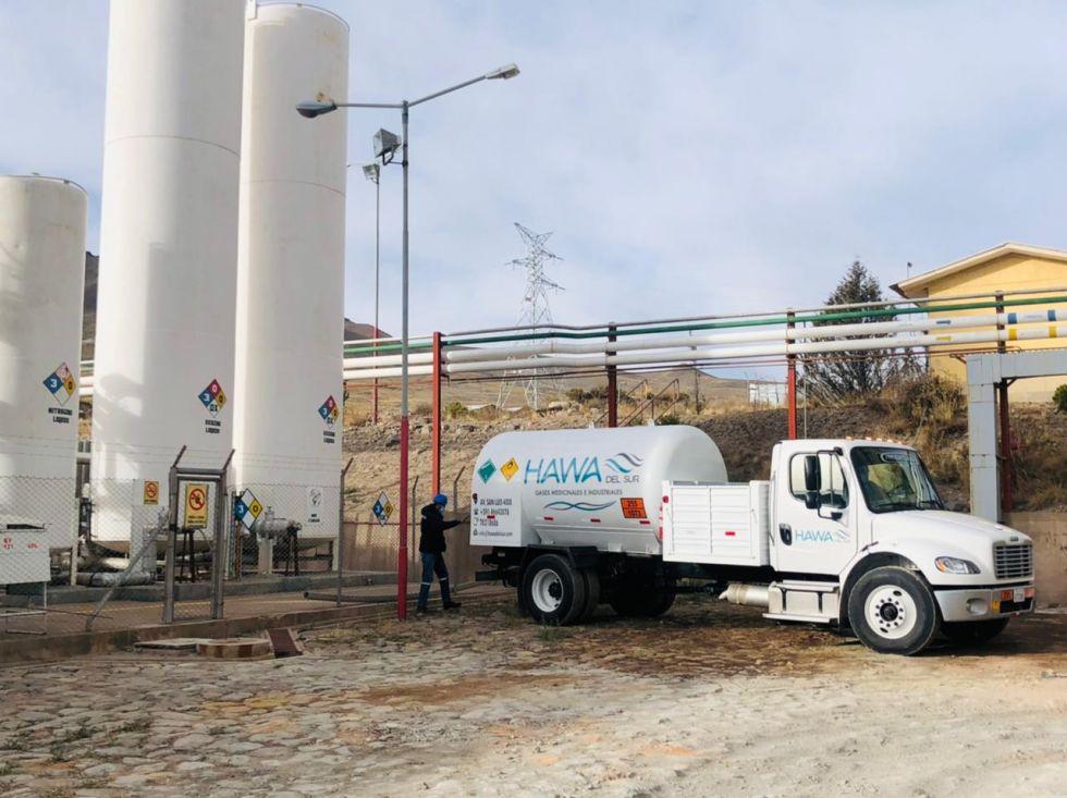 Inauguran planta generadora de oxígeno líquido en Karachipampa
