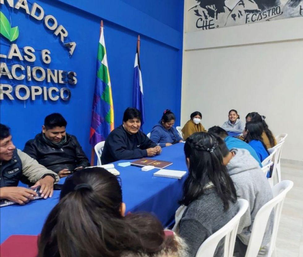 Evo Morales admite veracidad del video en el que cuenta por qué decidió que Áñez se quede en la presidencia