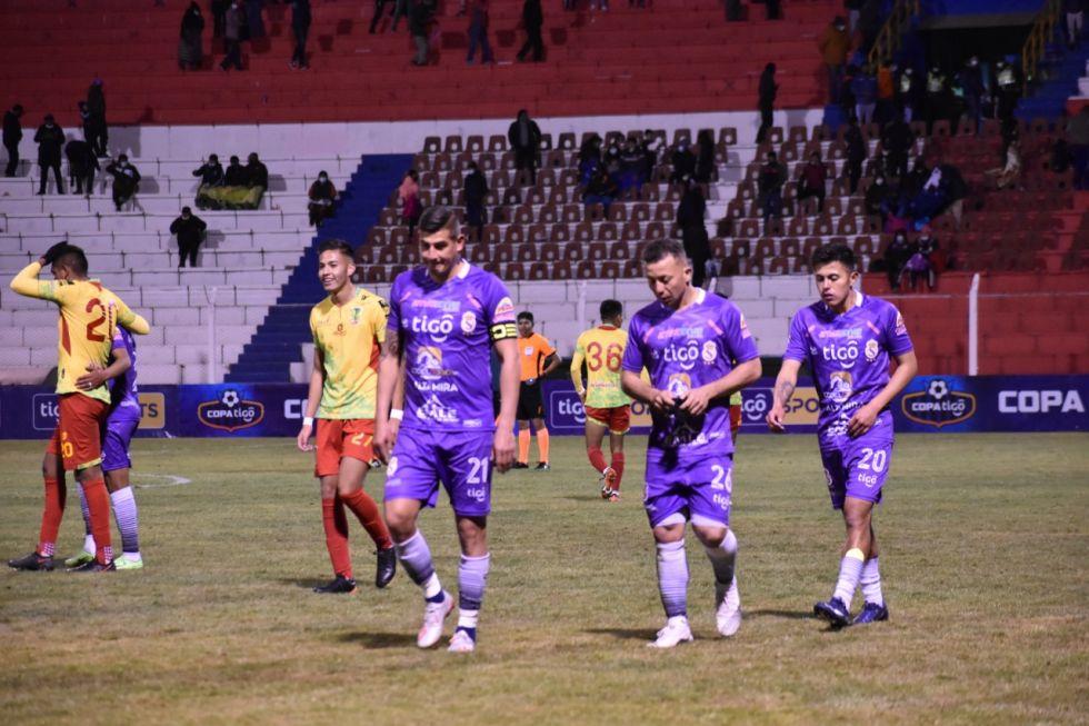 Real Potosí cayó goleado ante Municipal Vinto Palmaflor