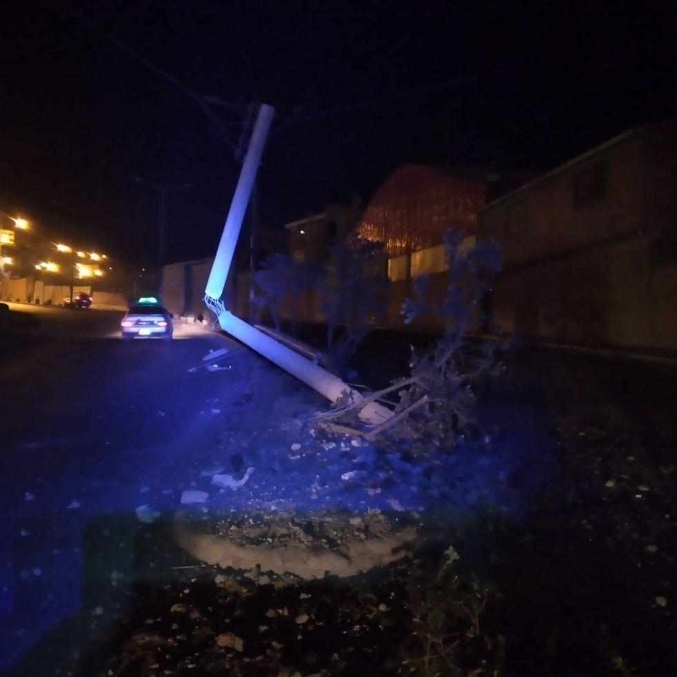 El accidente de tránsito ocurrió esta madrugada al promediar las 4:00, de acuerdo con el informe de los vecinos.
