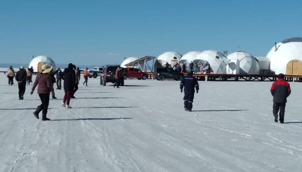 Aumenta la tensión entre Oruro y Potosí por instalación de domos