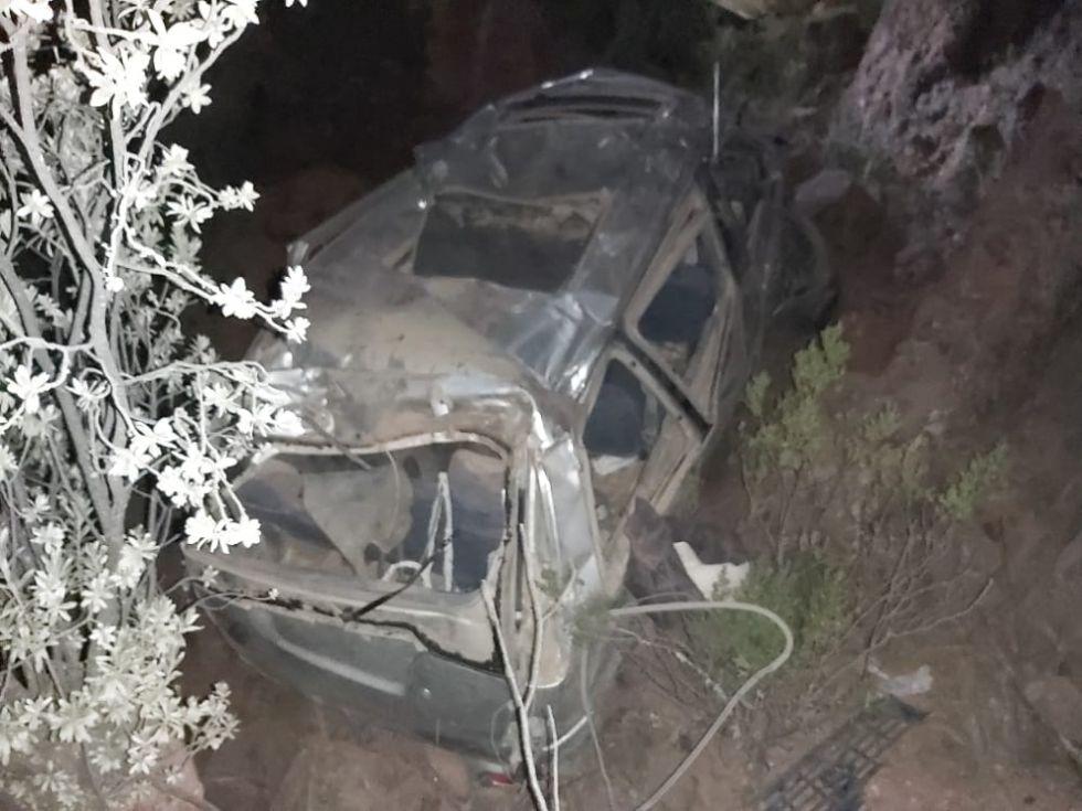 Tres adolescentes mueren en accidente de tránsito en el norte potosino