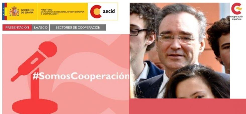 Juan Pita es el coordinador de la Aecid.